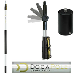 DocaPole 12 Foot Camera Pole + Camera Adapter