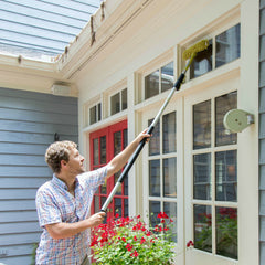 DocaPole 12 Foot Extension Pole and Squeegee Window Washer Combo Set