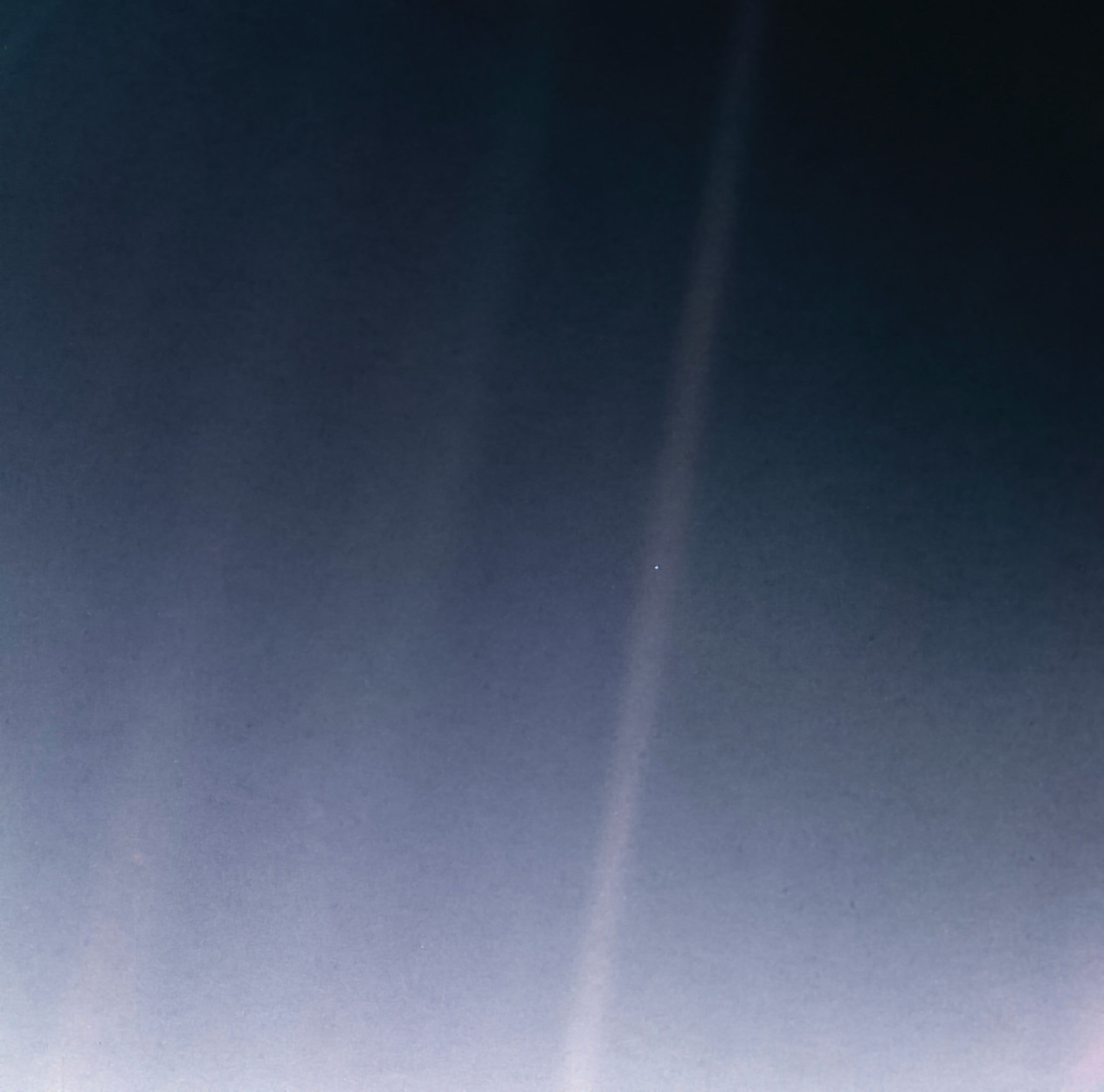 Pale Blue Dot from NASA's Voyager 1