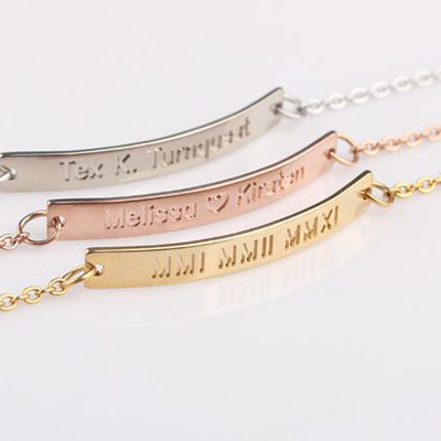 Women's Personalised Bracelets