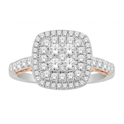 18CT with Diamonds