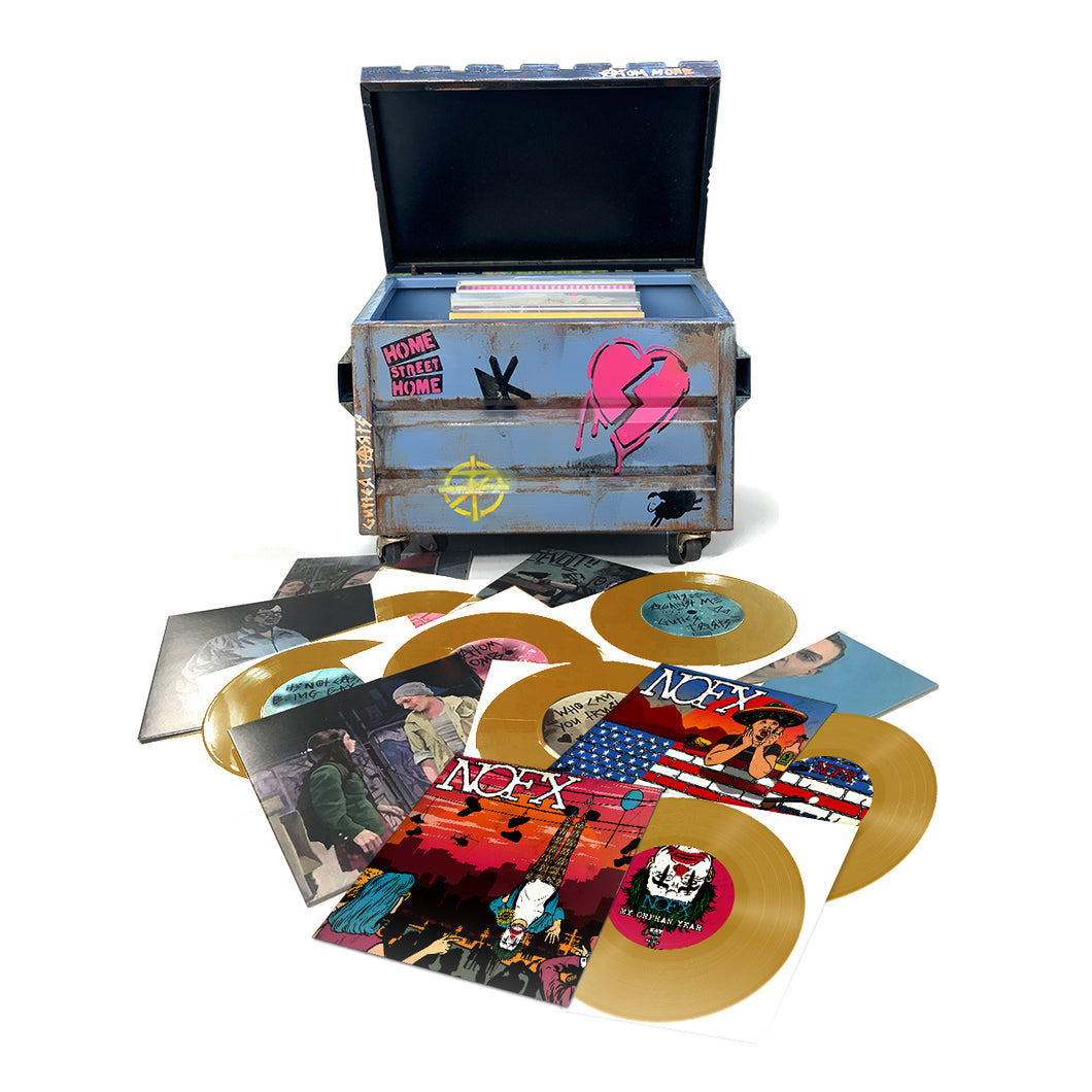 PAYWHIRL TEST The Dumpster Diver GOLD Box Set