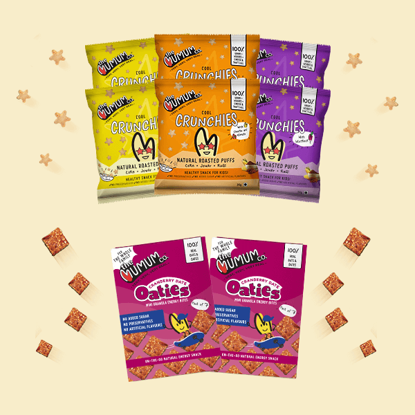 Cool Crunchies and Oaties Combo - Pack of 8