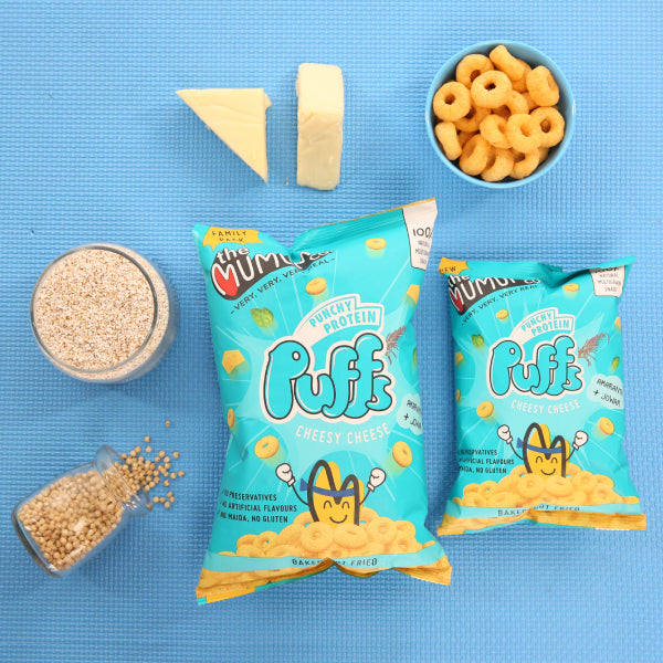 Punchy Protein Puffs - Cheesy Cheese - Family Pack of 6