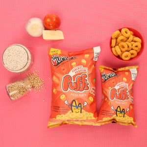 Punchy Protein Puffs - Pizza Party - Pack of 9