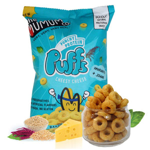 Punchy Protein Puffs - Cheesy Cheese - Pack of 6