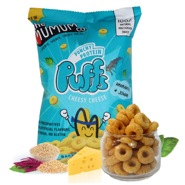 Punchy Protein Puffs - Cheesy Cheese - Pack of 9