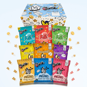 Colour Me Box with Gift - Melties, Crunchies, Protein Puffs - Pack of 9