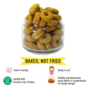 Punchy Protein Puffs - Masala Madness - Family Pack of 6