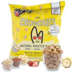 Cool Crunchies - Strawberry Banana - Pack of 9