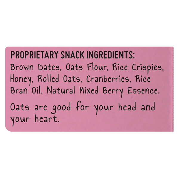 Oaties - Cranberry Date - Pack of 2