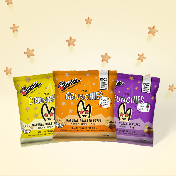 Cool Crunchies - Variety Combo - Pack of 6