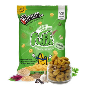 Punchy Protein Puffs - Masala Madness - Family Pack of 4