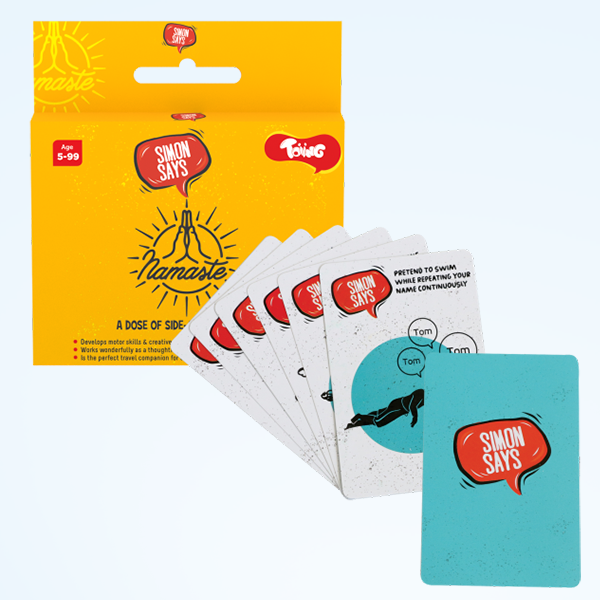 Add On Toy: Toiing Simon Says Party Card Games