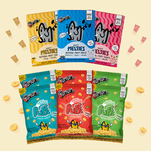 Protein Puffs and Melties Combo - Pack of 9