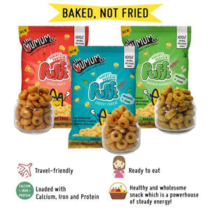 Protein Puffs and Oaties Combo - Family Pack of 5