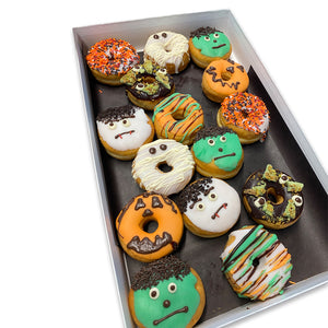Halloween Mini Donuts Tray of 15