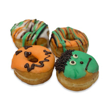 Load image into Gallery viewer, Halloween Mini Donuts Tray of 15