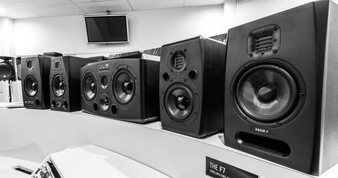 SOUNDcorp Adam display