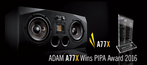 ADAM A77X Award Winner FedAud