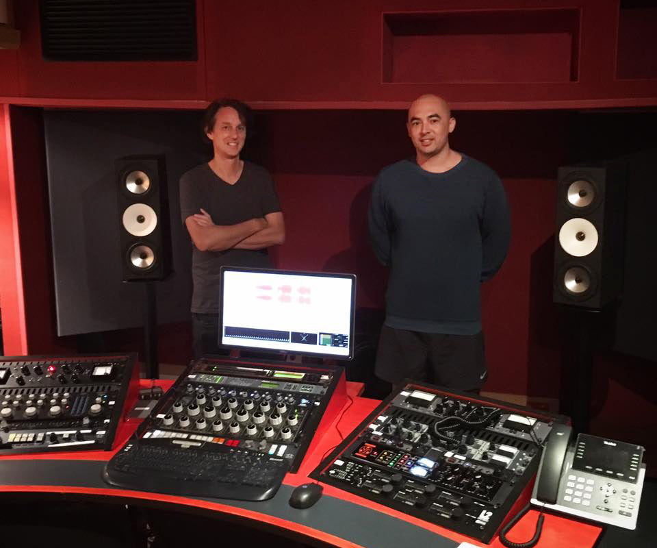 Ben Feggans & the Amphion Two18s at 301 Studios, Sydney