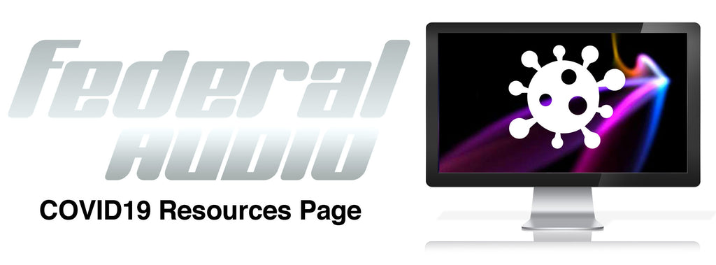 Federal Audio COVID Resource Page Haeder