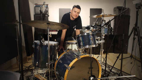 Drummer Jacob MAnn