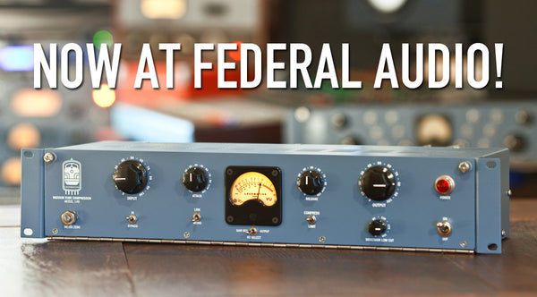 Locomotive Audio now at Federal Audio