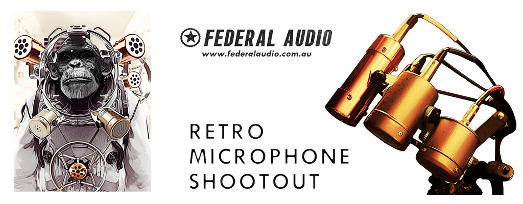 FedAud Retro Mic Shootout