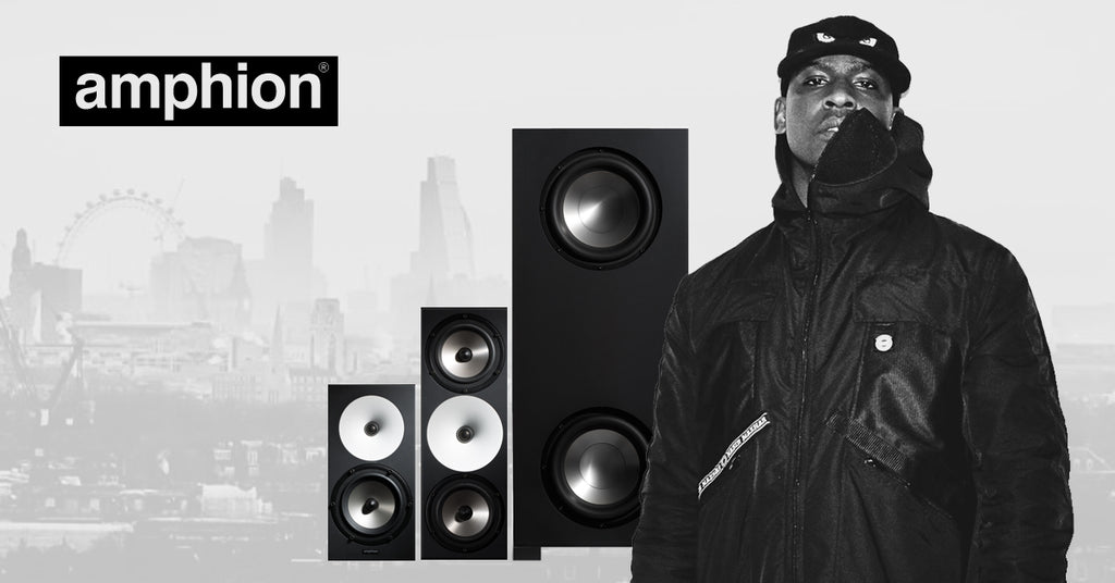 Skepta with Amphion