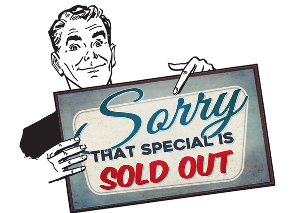 Federal Audio Sold Out Guy - Sorry!