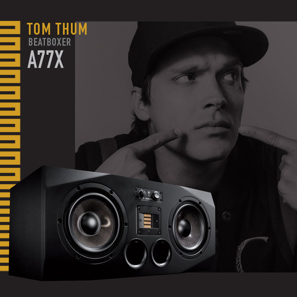 Tom Thum & the ADAM A77X