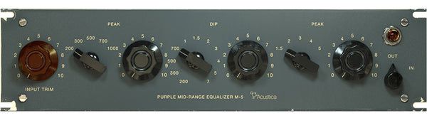 Acustica Audio Purple M-5 EQ FedAud