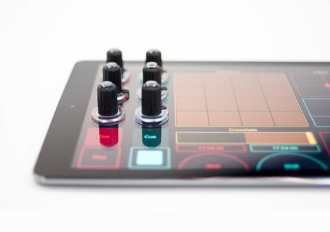Tuna Knobs on iPad at Federal Audio