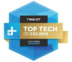 top tech of ces 2015 award