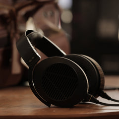 Audeze EL-8 Closed-Back Headphones FedAud in casual recline mode