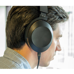 Audeze EL-8 Closed-Back Headphones FedAud being worn