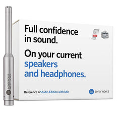 Sonarworks Reference 4 Studio Edition with Microphone at Federal Audio
