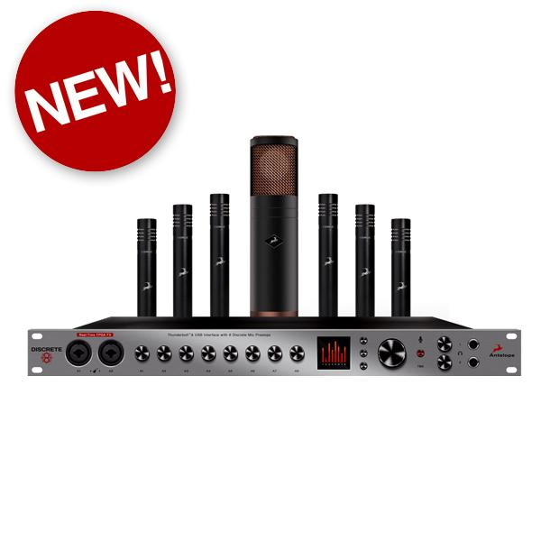 Antelope Audio Discrete 8 Bundle - New at Federal Audio