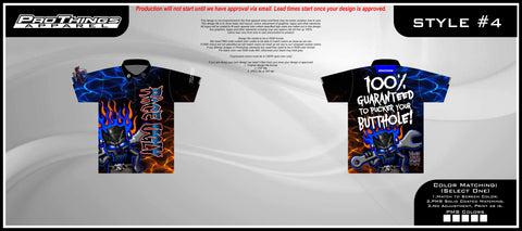 "Race Ugly Speed Shop's ""Butthole Crew Shirt""!"