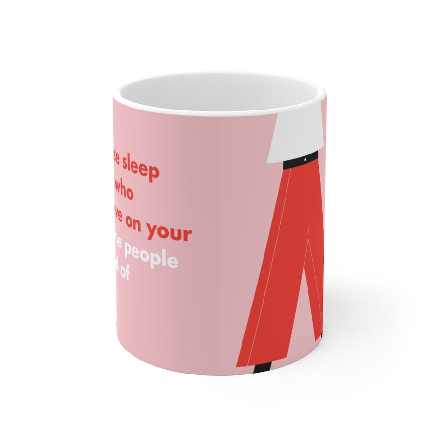 Mug [ do not lose sleep on those who cannot love you on your level. some people are afraid of heights. ]