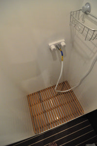 Aluminum Sprinter Shower