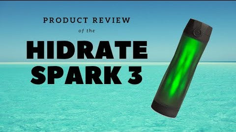 Hidrate Spark Product Review - How to maintain your hydration goals - S1E16