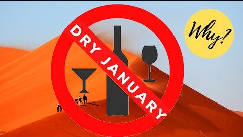 Dry January 2020 - The Benefits of a Month without Alcohol - S1E14