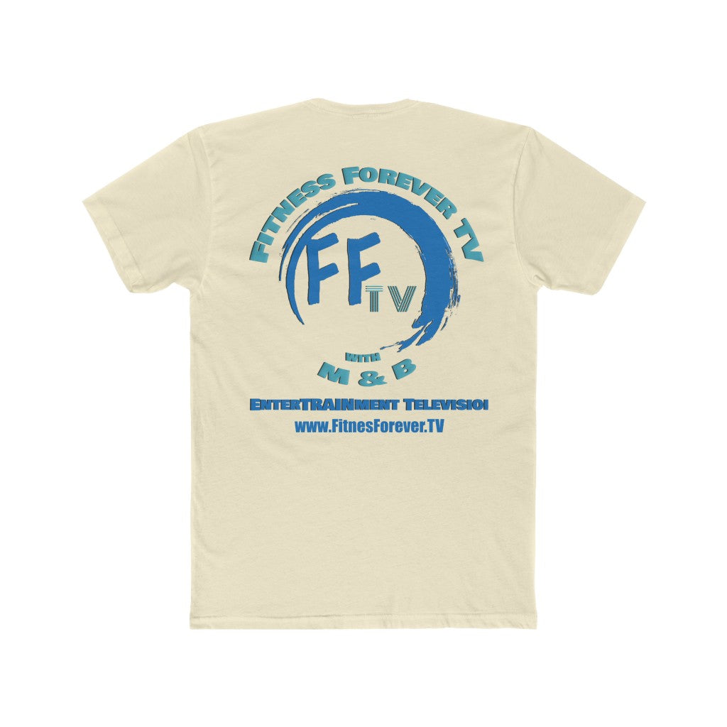 FFTV Men's Soft Cotton Crew Tee
