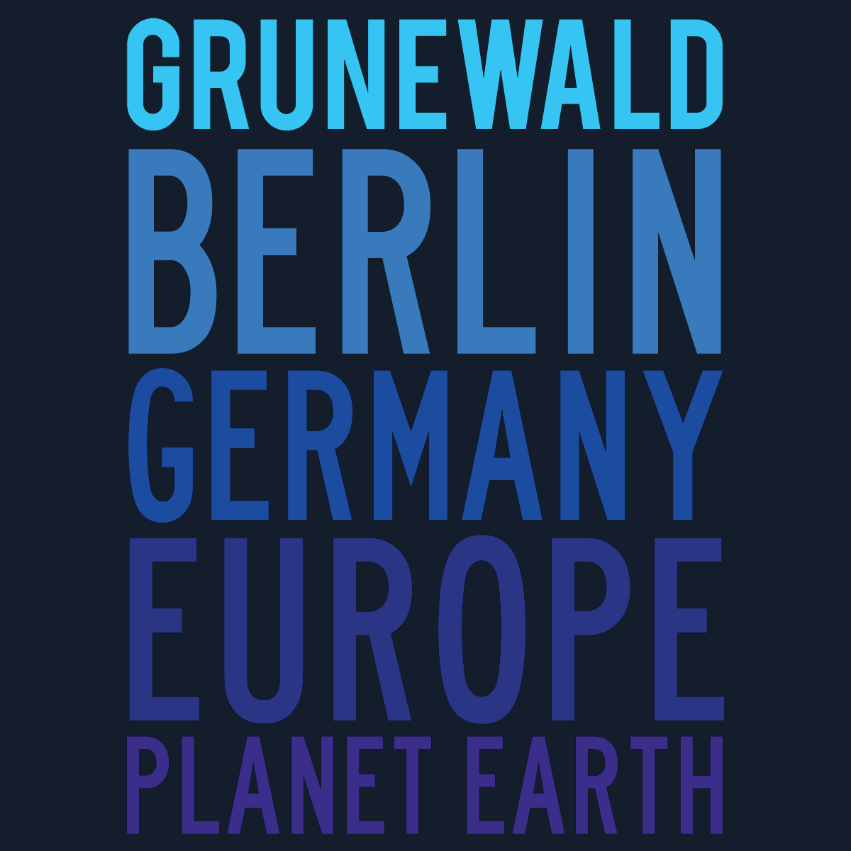 Grunewald Planet Earth