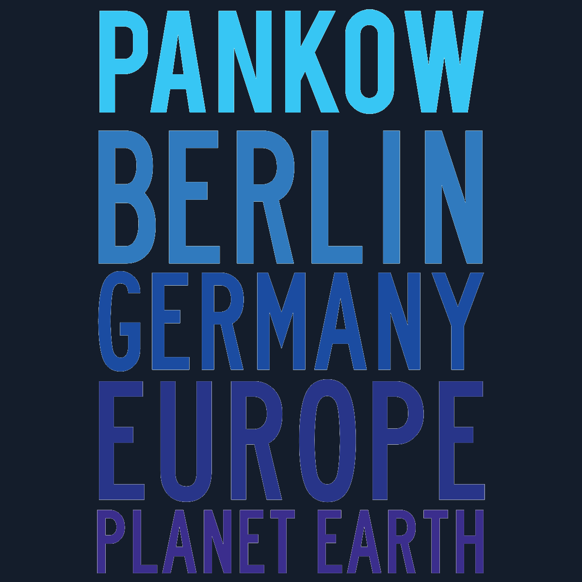 Pankow Planet Earth