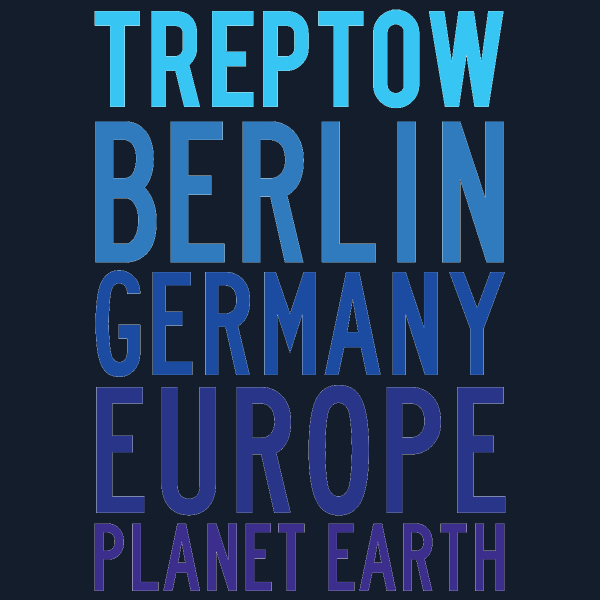 Treptow Planet Earth