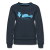 Tegel TXL keep me - Frauen Premium Sweatshirt - Navy