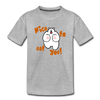 Nice to eat you - Kinder Premium T-Shirt - Grau meliert